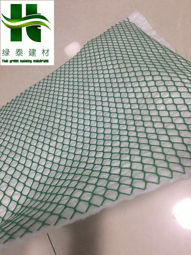塑料网格+无纺布复合